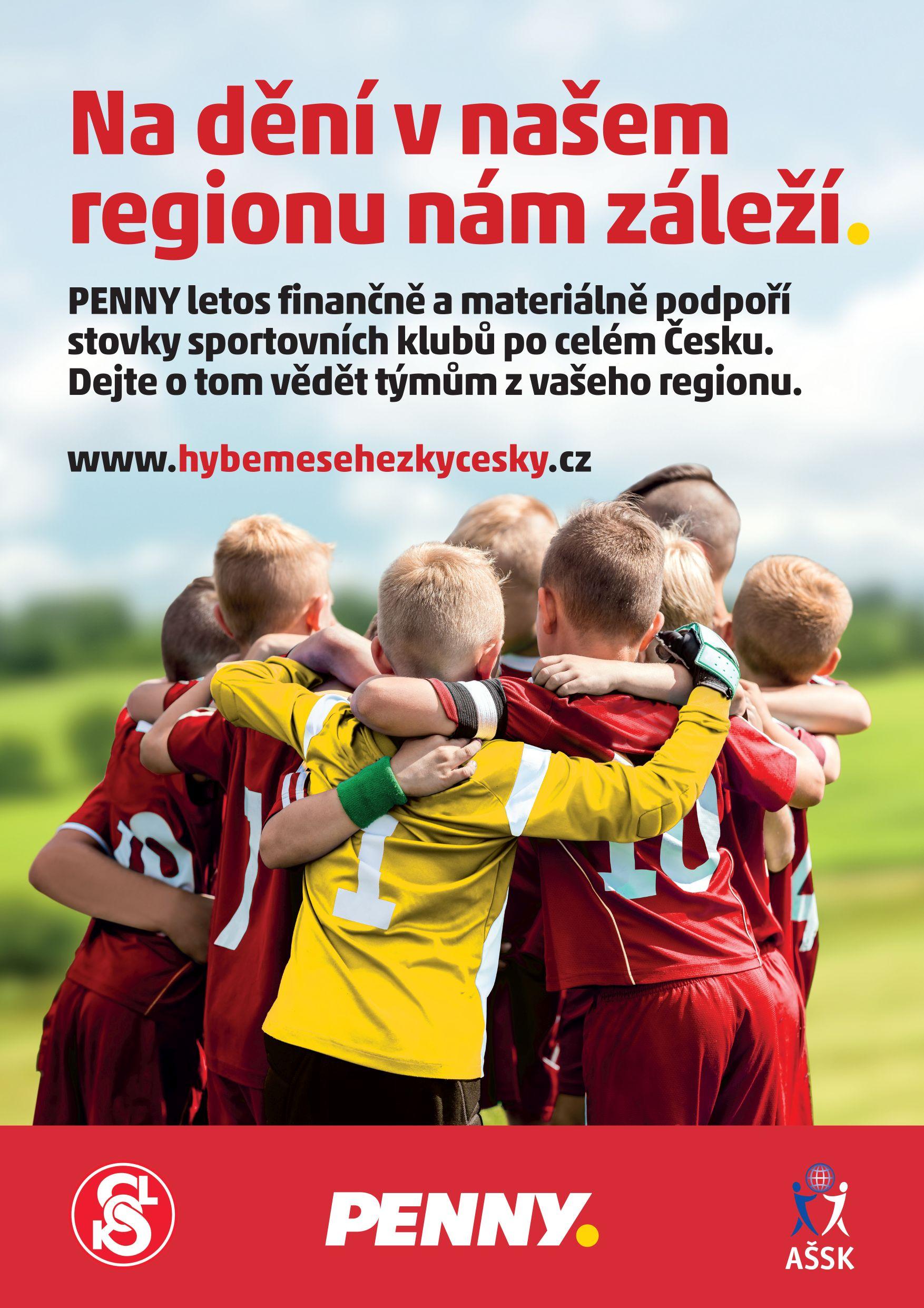 Hýbeme se hezky česky plakát soutěž